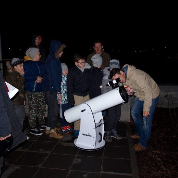 Obserwacje Jowisza pod MCK