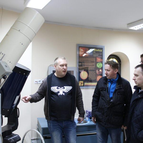 Wizyta koła w obserwatorium w Olsztynie 2019