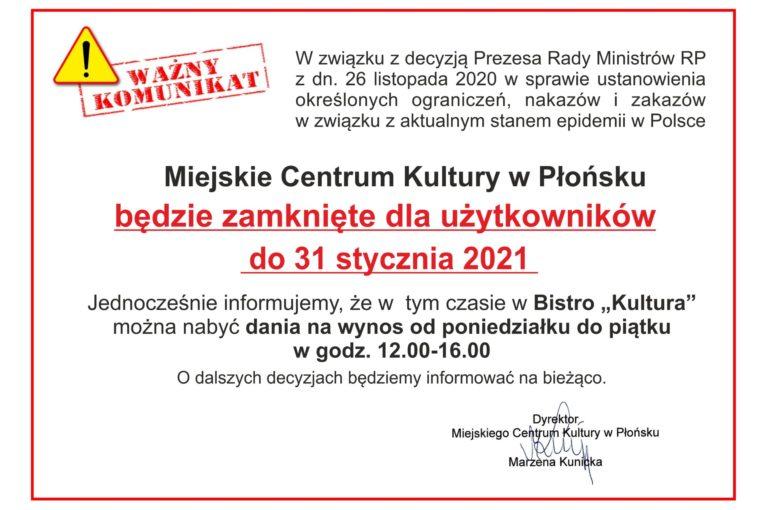 info styczeń 2021